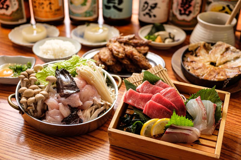 【10/28~】本マグロと下関産あんこう鍋の「平八食べつくしコース」